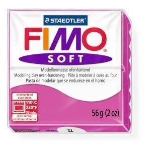 Lut polimeric Fimo Soft pentru modelaj 8020-Raspberry