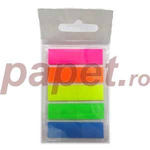 Notes adeziv 45x12 5culori/set plastic 11112700