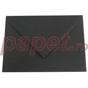 Plic Daco C6 gumat color negru PC612N