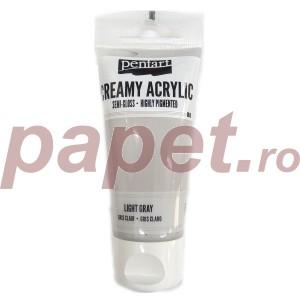 Acrylic color creamy semi-gloss 60ML Light Gray P27954
