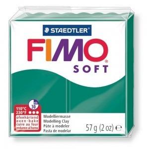 Lut polimeric Fimo Soft pentru modelaj 8020-Petrol