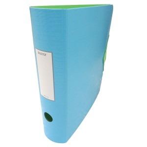 Biblioraft Leitz 82MM albastru deschis/verde L11160030