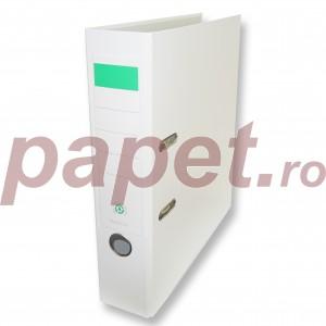 Biblioraft plastifiat Papet 8cm alb E5640112