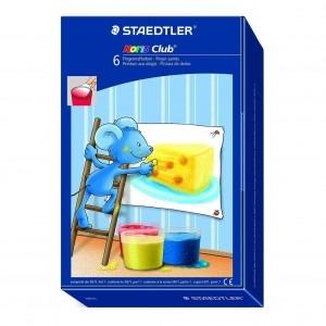 Acuarele Staedtler pentru pictat cu degetele ST-8816