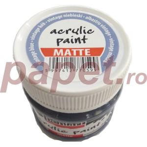 Culoare acrilica mata 50ML Vintage Blue P10823