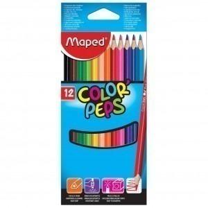 Creioane colorate Maped 12 culori / set M183212