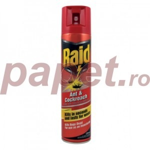 Raid Spray impotriva furnicilor si gandacilor R9161