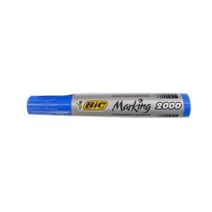 Marker permanent Bic albastru E745