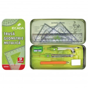 Trusa geometrie metalica Ecada 98009