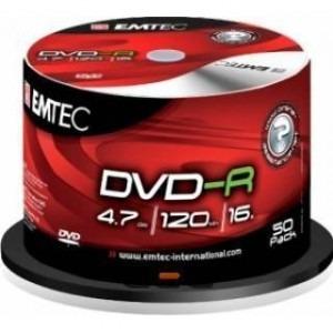 DVD-R Emtec 16X 4.7GB 50buc/box EMT20002