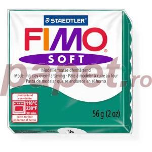 Lut polimeric Fimo Soft pentru modelaj 8020-Emerald