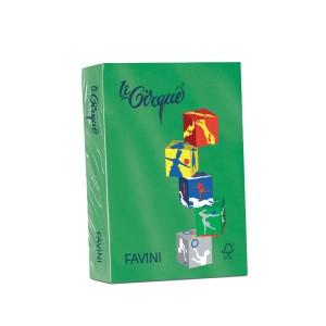 Carton A4 color 160G/MP verde inchis Favini A4208
