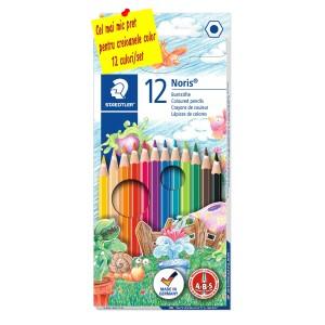 Creioane colorate 12 culori / set Staedtler ST144NC12