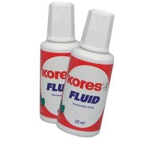 Set fluid corector solvent 2*20ml Kores KO062115