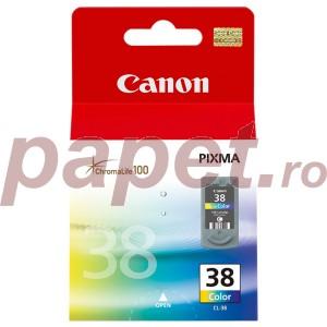 Cartus color Canon CL-38 9ML ORIGINAL IP1800