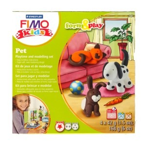 Set Staedtler modelaj fimo kids animale de companie STH-8034-02