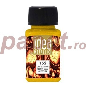 Culoare Maimeri metalica 60 ml sequin gold 4014152