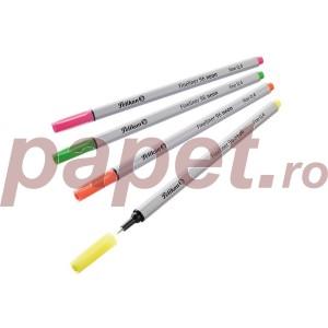 Fineliner Pelikan 4culori/blister 957746