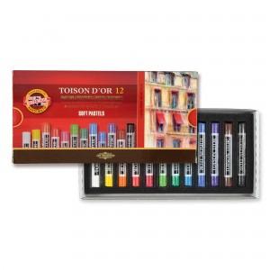 Set creta toison d'or Koh-I-Noor 12 culori K8522-12G