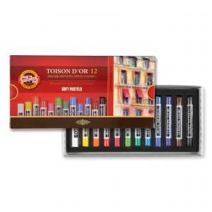 Set creta toison d'or Koh-I-Noor 12 culori K8582-12