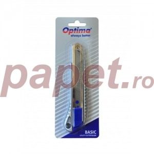 Cutter basic Optima lama 18MM SK5 sina metalica aluminiu OP381081263