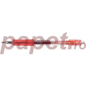 Roller Edding 2190 varf rotund 0.7MM rosu ED21902