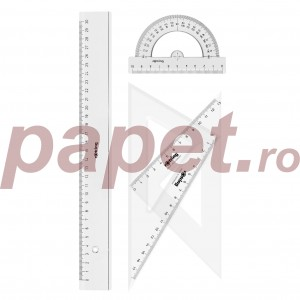 Set geometrie Rotring 4 piese S0221370