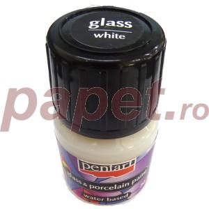 Culori sticla/portelan sau ceramica 30ML White P21346