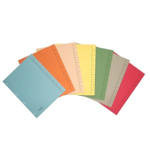 Separatoare din carton A4 diverse culori 40206