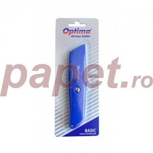 Cutter basic Optima lama trapezoidala SK5 aluminiu OP381081163