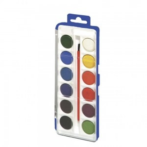 Acuarele Herlitz 12 culori / blister mini 8640104