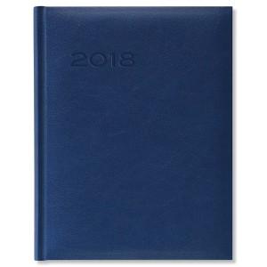 Agenda Herlitz 2018 A4 saptamanala albastra 10780468