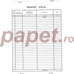 Registru jurnal cod: 14-1-1 554