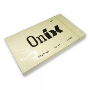 Notes adeziv 125x75mm 100 file Onix E587