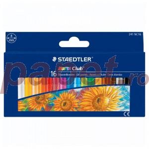 Creioane colorate Staedtler pe baza de ulei Noris Club ST-241-NC16