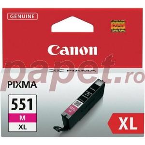 Cartus magenta Canon CLI-551XLM 11ML ORIGINAL PIXMA IP7250