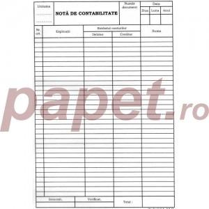 Nota de contabilitate A4 1171