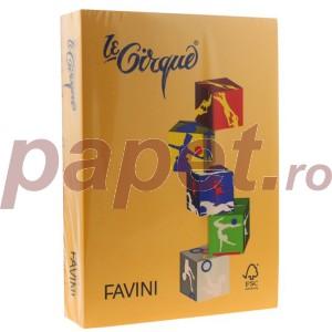 Carton A4 color Favini 160G/MP galben 5215