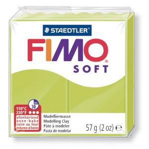 Lut polimeric Fimo Soft pentru modelaj 8020-Green lime