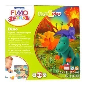 Set Staedtler modelaj fimo kids dinozauri STH-8034-07
