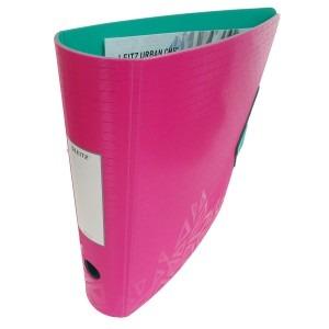 Biblioraft Leitz 82MM roz/verde inchis L11160022