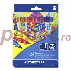 Carioca Staedtler Noris 24 culori / set ST325C24