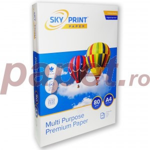 Hartie Copiator Sky Print Premium 80g/mp A4