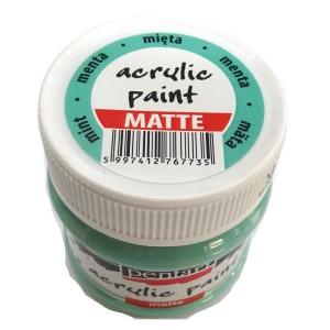 Culoare acrilica mata 50ML Menta P110/3