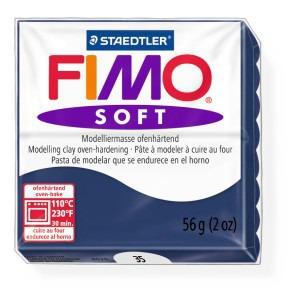 Lut polimeric Fimo Soft pentru modelaj 8020-Windsor blue