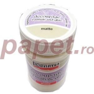 Decoupage varnish and glue matte Pentart 100ML P28165