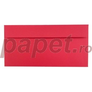 Plic Daco DL gumat color rosu christmas PC12R