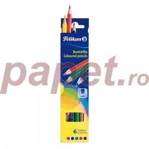 Creioane color Pelikan 6 / set E713206