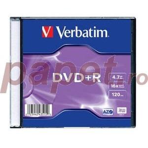 DVD+R Verbatim 16X 4.7Gb carcasa VER43515