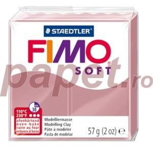Lut polimeric Fimo Soft pentru modelaj 8020-Antique rose